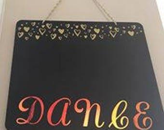 Chalk Board Hanger