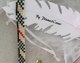 London 2 Miyuki beaded bracelet