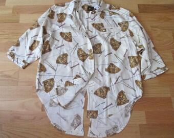 Vintage LIZ CLAIBORNE 'Nautical' Shirt SP