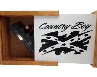 Country Boy Flag Concealment Shelf