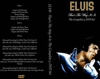 Elvis Presley - Thats The Way It Is 1970: Complete 3-DVD Set
