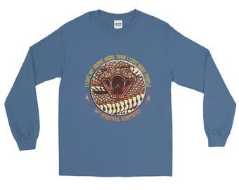 I Love My Snake Long Sleeve T-Shirt