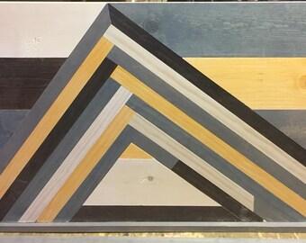 Handmade Pine Wall Art 24 x48 inches