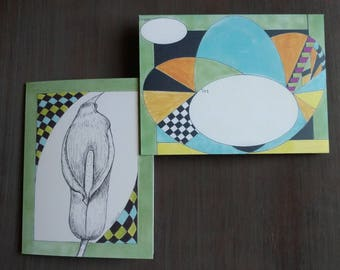 Peace Lily Notecards
