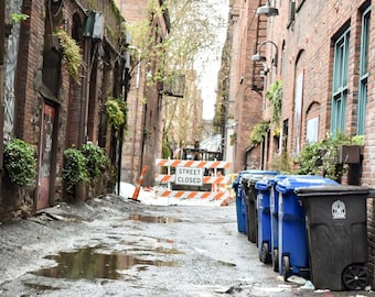 The back alleys of Seattle