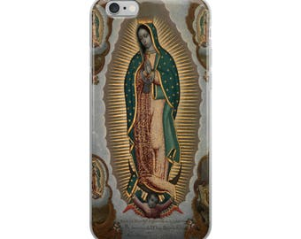 The Virgin of Guadalupe iPhone Case - religious cover - Our Lady of Guadalupe - catholic gifts - Virgin Mary