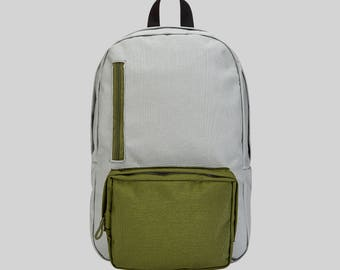 The Simple Backpack Grey