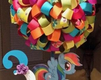 My little pony centerpiece