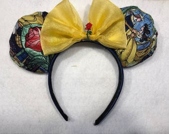 Beauty and the Beast Disney ears