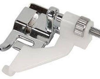 Adjustable Blind Hem Edge Stitch Presser Foot Snap-on