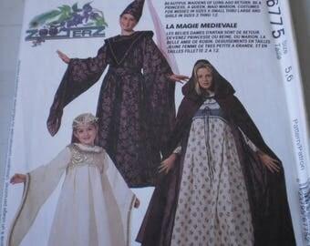 Costumes McCALL's 6775 S 5-6