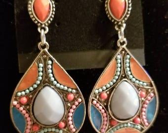 Southwestern earring design