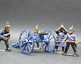 28mm Franco-Prussian War PRUSSIAN ARTILLERY *pro painted*