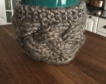 Cable Knit Mug Cozy