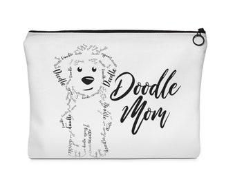 Doodle Mom - Carry All Pouch - 2 Sizes - Goldendoodle, Labradoodle, Golden DoodleDog Mom