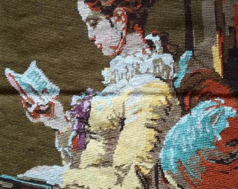 Full cross stitch embroidery, Wiehler gobelin