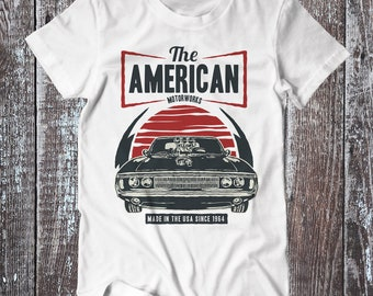The American Motorworks , Car Tee , Graphic T-shirt , American Muscle Car Shirt