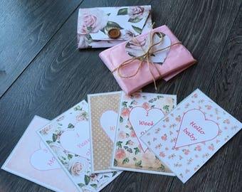 Baby milestone cards baby shower gift