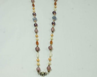 Variety beads /glass/pearl shell  necklace J101W