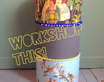 No.22 Lampshade Making Workshop 28/3/18