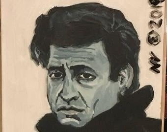 Johnny Cash Portait