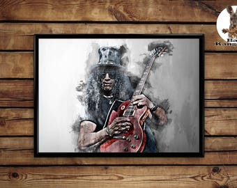 Slash print wall art home decor poster