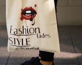 REUSABLE BAG - F A S H I O N