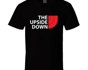 The Upside Down Tee Cool Stranger Things Tv Show Fan T Shirt
