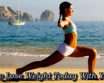 New Lose Weight Today With Yoga. Union Of Mind, Body and Spirit. Healthy Body.