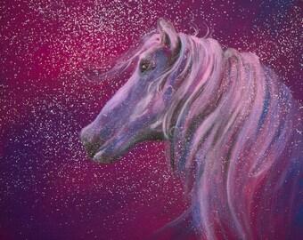 Magical Healing Horse Print