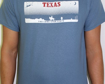 "Texas ""The Lone Star State"" Blue"