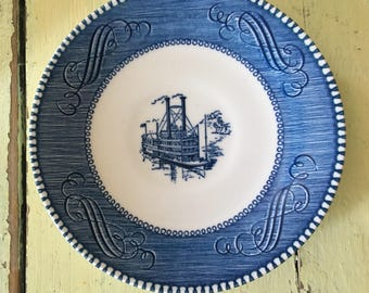 Currier and Ives saucer