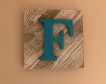 Custom Initial Wall Decor