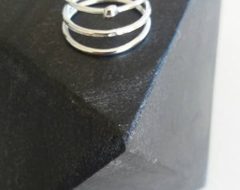 Stacker ring sterling silver