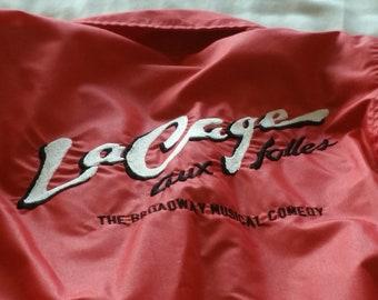 Authentic Broadway Jacket LACAGE AUX FOLLES Vintage 1983