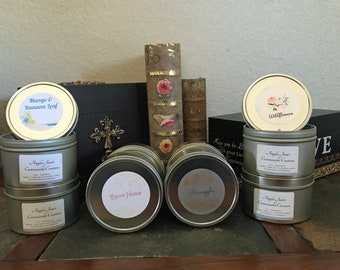 Scented Soy Candles - Hand-Poured Perfection!