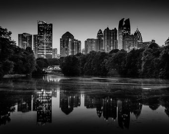 Reflections on Midtown Printable Download