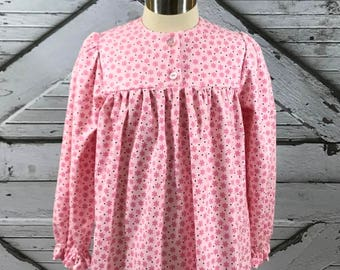 Size 5--Girl's Cotton Flannel Gown