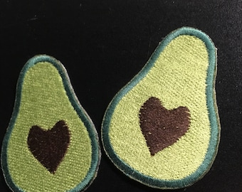Avocado heart patch
