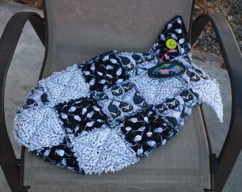 Cat Bed, Fish Shaped Cat Bed, Pet Supplies, Pet Bedding, Pet Blanket, Catnip Fish Mat, Washable Cat Mat, Cat Mat Fabric Cat Mat, Sleep Mat