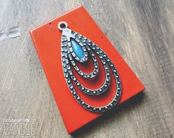 Geometric Stone Focal = DIY Jewelry