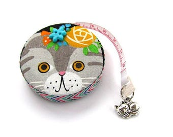 Measuring Tape Flower Cats Retractable Tape Measure