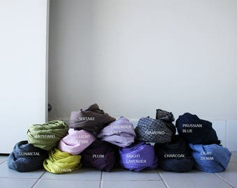 LINEN SCARF /handmade in australia / pamelatang