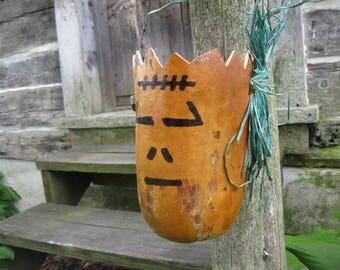 FRANKENSTEIN GOURD  Halloween decoration