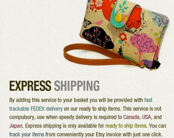 Express shipping Fedex UPS TNT USPS note (Reserved)