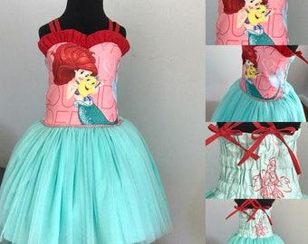 Disney Princess Ariel Little Mermaid Dress Size 3T