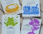 2018 Buchdruck Tischkalender