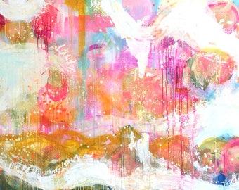 Spring Time, original painting