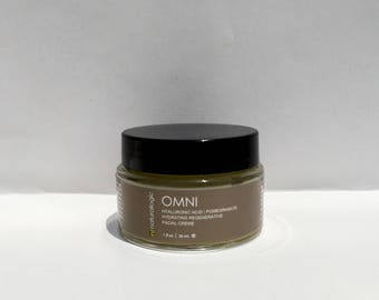 OMNI Botanical Moisturizer. Normal, Mature, Aging, Dry, Sensitive, Skin. Natural Organic Chemical Free Non Toxic Skin Care. Vegan.