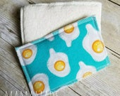 Washable Sponge | Sunny Side Up | Unsponge | Reusable Sponges | Eco-friendly from green by mamamade | Set of 2 Unsponges